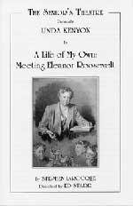 Seniors Theatre production of Eleanor Roosevelt