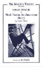 Seniors Theatre production of Mark Twain: An American Story